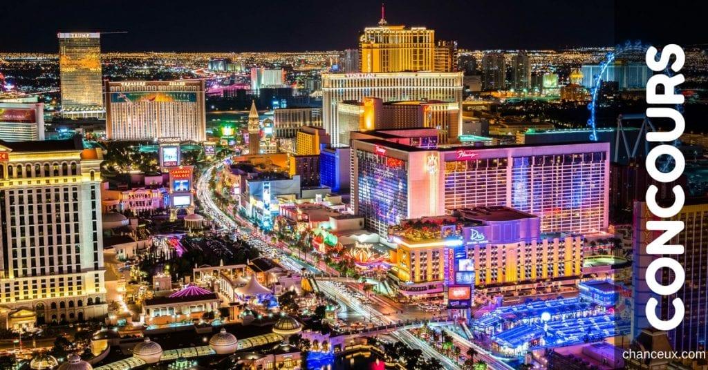 Gagnez un voyage à Las Vegas!