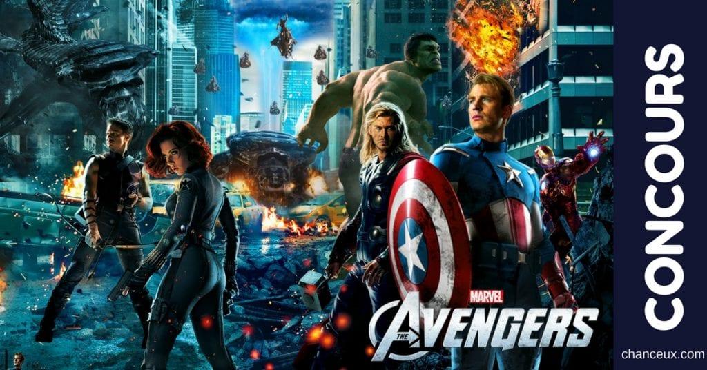 Gagnez un voyage à Toronto pour voir Avengers La guerre de l'infini!