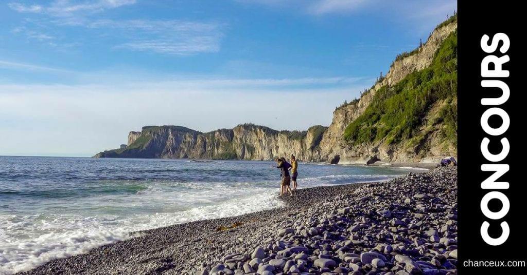 Gagnez un voyage en Gaspésie!