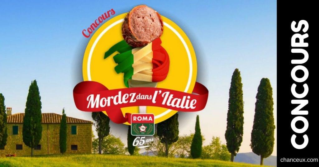 Gagnez un voyage pour 2 personnes à Rome!