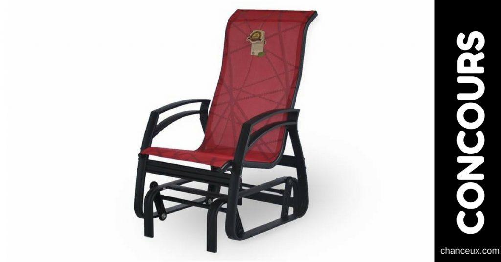Gagnez une chaise berçante de la collection Savini!