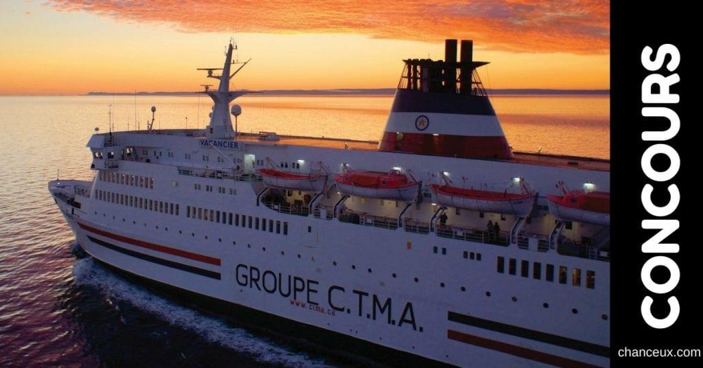 Gagnez une croisière d'une semaine entre Montréal et les Îles de la Madeleine!