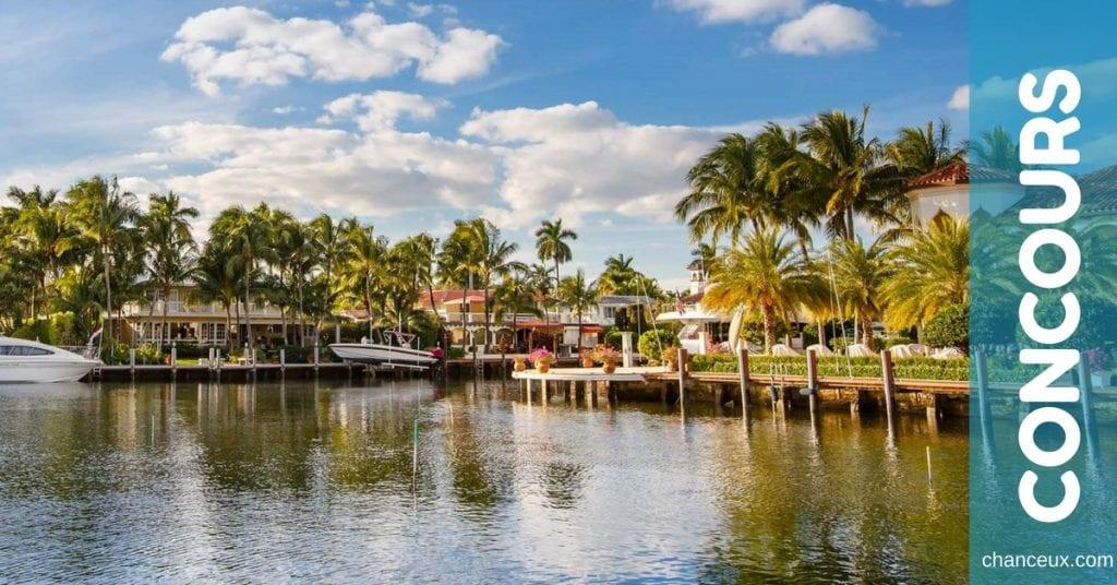 Gagnez une escapade d'hiver pour deux personnes à Grand Fort Lauderdale!