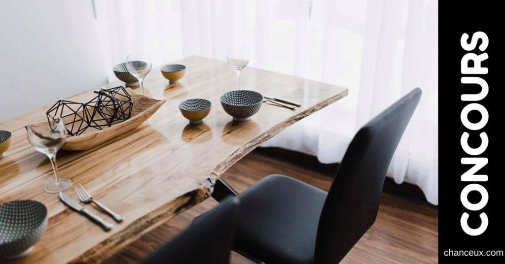Gagnez votre nouvelle table de cuisine!