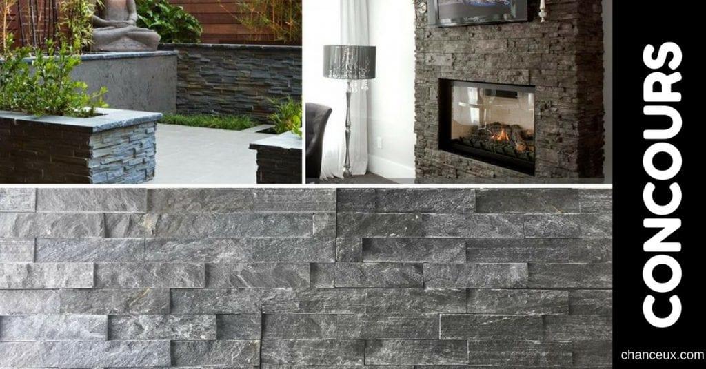 Gagnez 60pc de pierre naturelle de notre modèle Canmore!