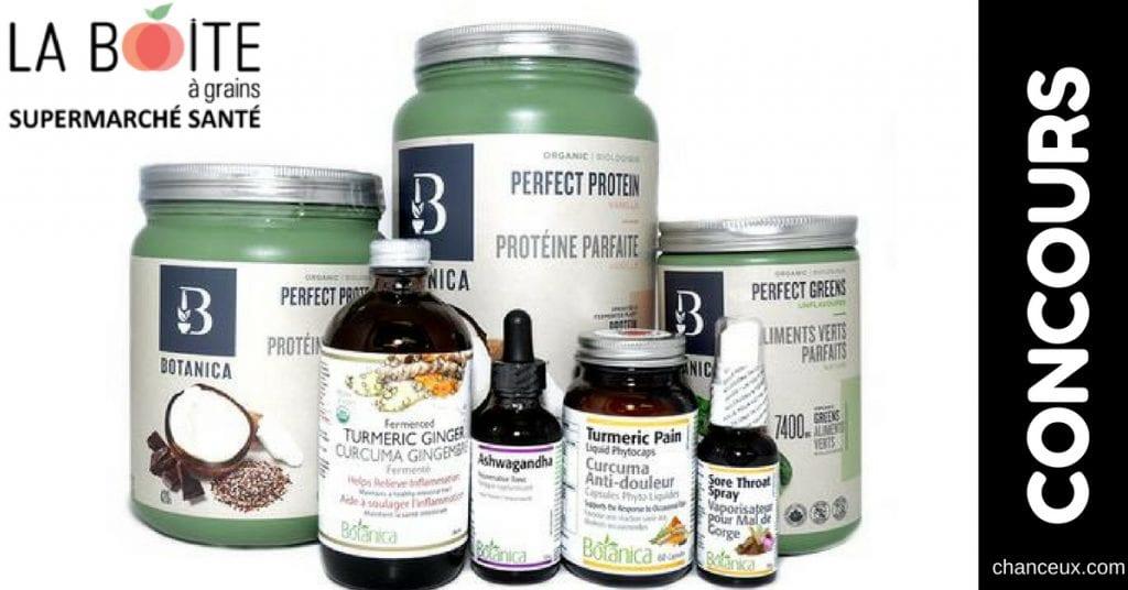 Gagnez cet ensemble de produits Botanica d'une valeur de 250$!