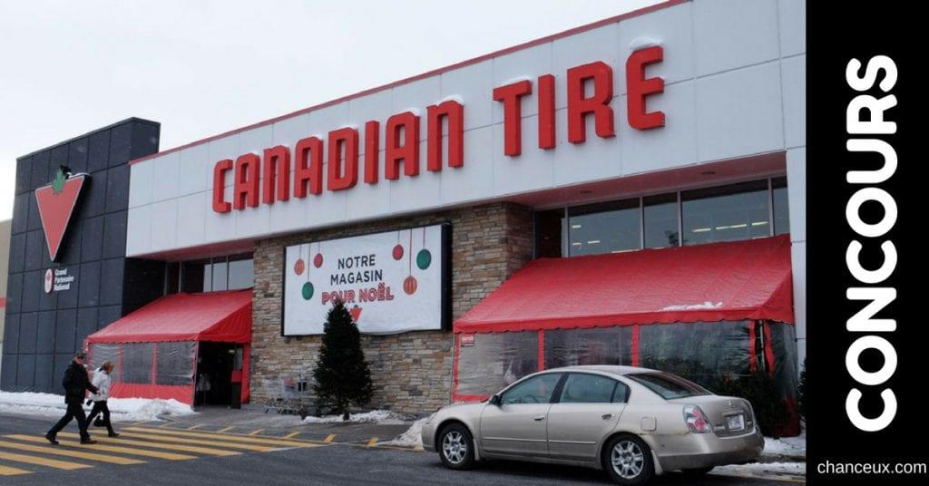 Gagnez l'une de 4 cartes cadeaux de 500 dollars à votre Canadian Tire de Granby!