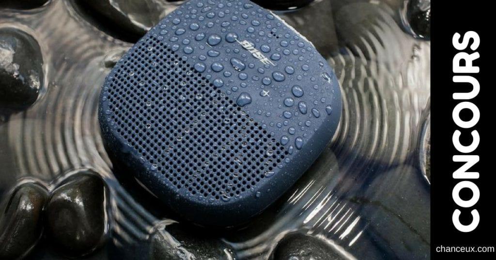 Gagnez le nouveau Bose Soundlink micro!