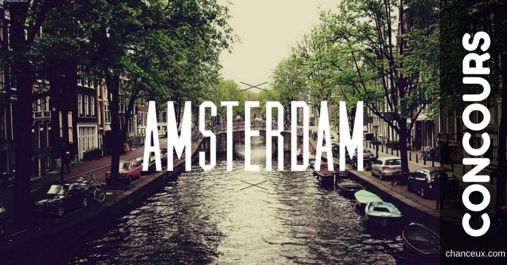 Gagnez un vol aller retour pour deux personnes amsterdam for Retour amsterdam