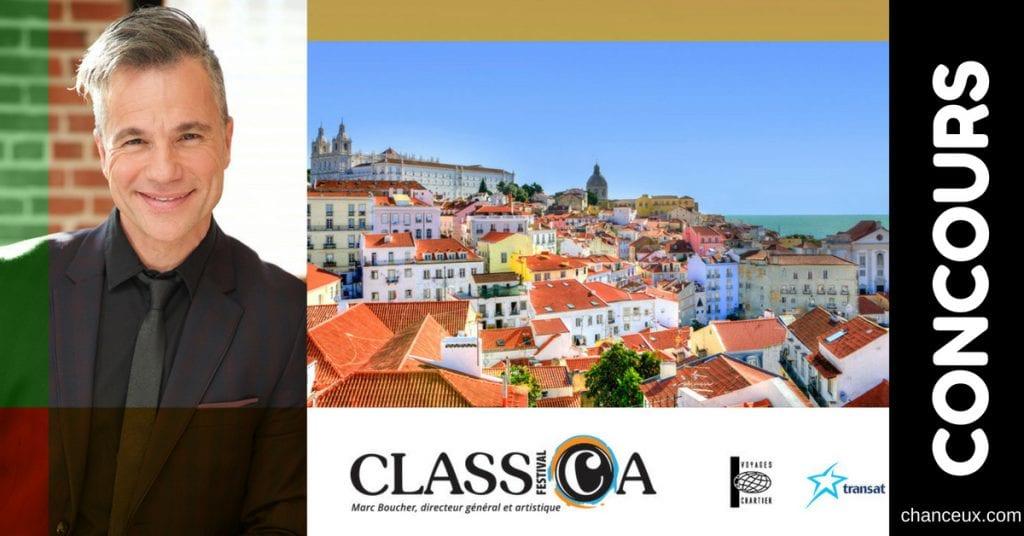 Gagnez un voyage d'une semaine au Portugal!