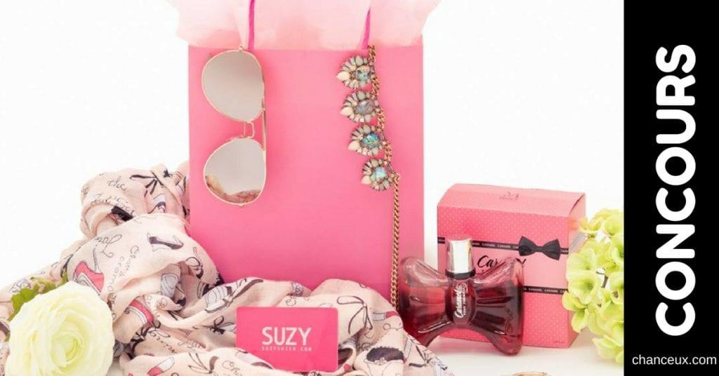 Gagnez une carte-cadeau de 250$ dans les magasins Suzy Shier!