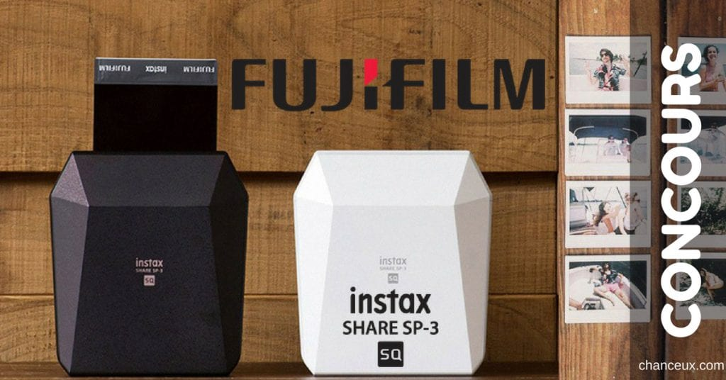 Gagnez une imprimante photo instax SHARE SP-3!