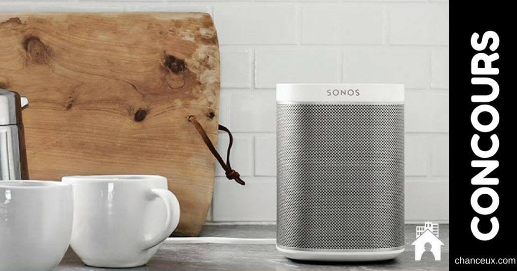 Concours - Gagnez un Sonos Play d'une valeur de 230$!