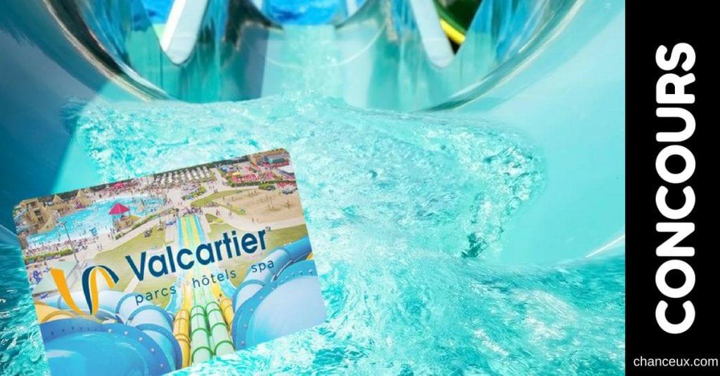 Concours - Gagnez une carte-cadeau de 100 $ du Village Vacances Valcartier!