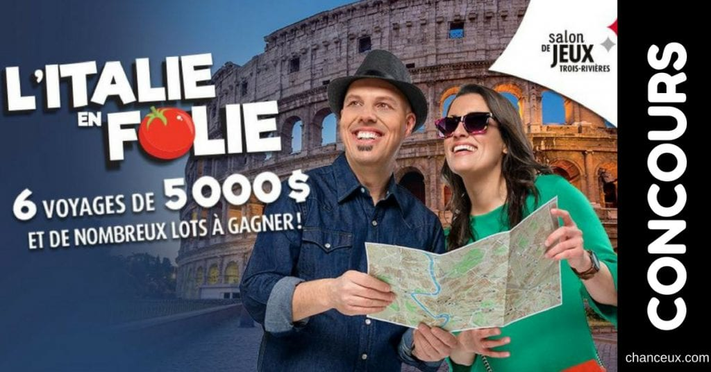 Concours - Gagnez votre place au Galas de L'Italie en folie!