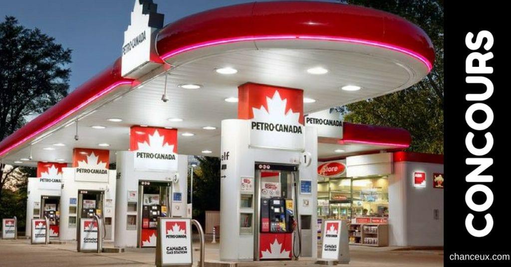 Gagnez une carte-cadeau Petro Canada d'une valeur de 100$!