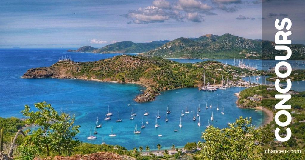 Concours - Gagnez un voyage à Antigua grâce à Sunwing!