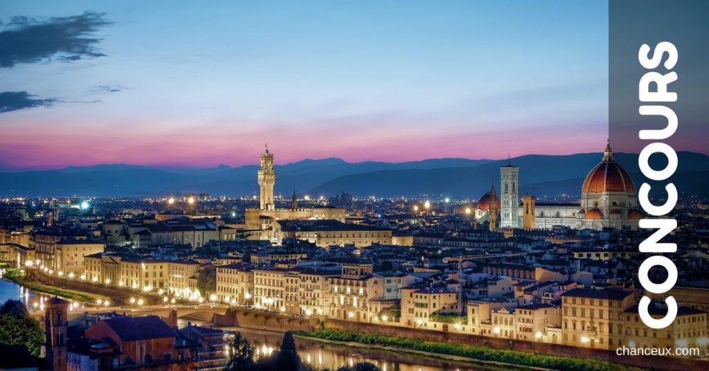 Concours - Gagnez un voyage de huit jours pour deux personnes en Italie!