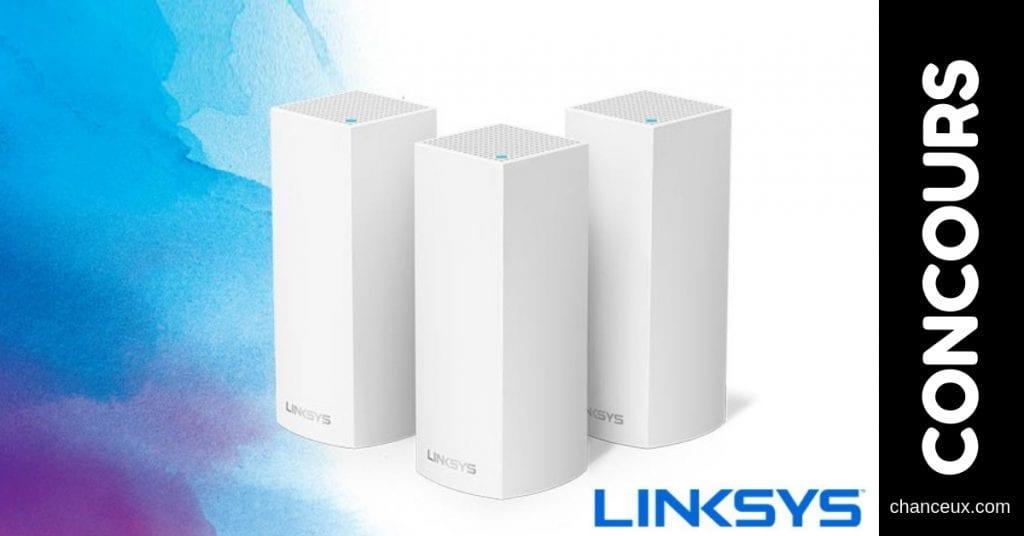 Concours - Gagnez le système Velop de Linksys pour un signal Wi-Fi optimal!