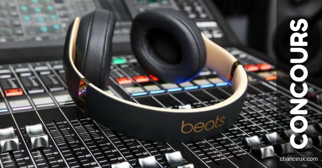 Concours - Gagnez un casque d'écoute Bluetooth Studio 3 de Beats!