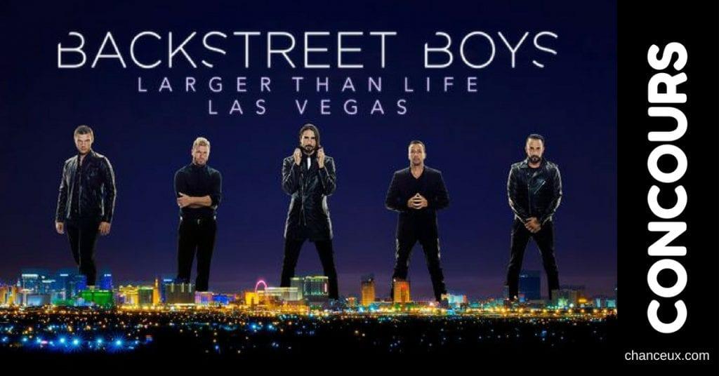 Concours - Gagnez votre virée de filles à Vegas pour aller voir les Backstreets Boys!