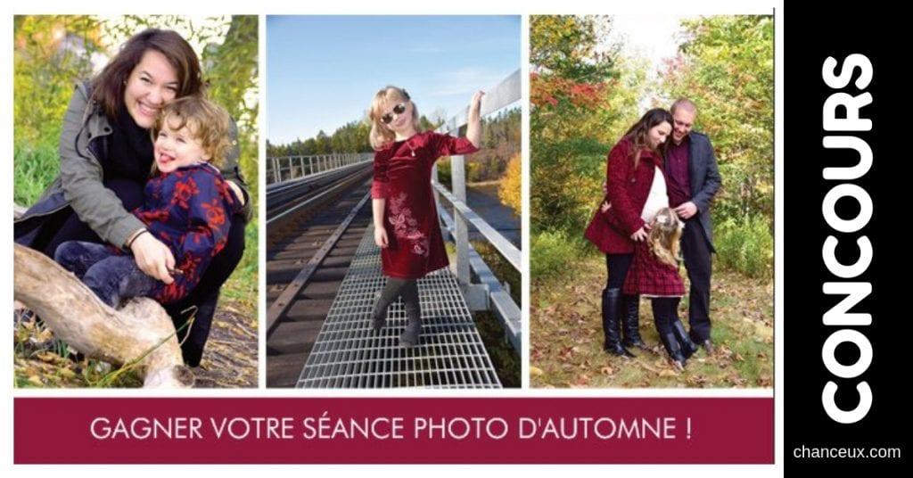 Concours Québec - Gagnez une séance de photo pour l'automne!