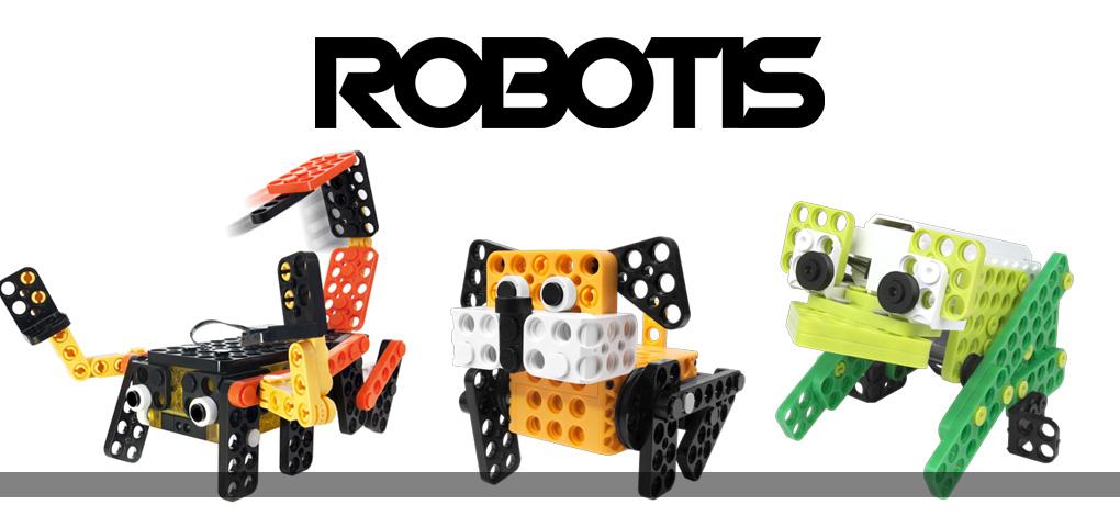 Concours - Gagne des robots Robotis pour vos enfants