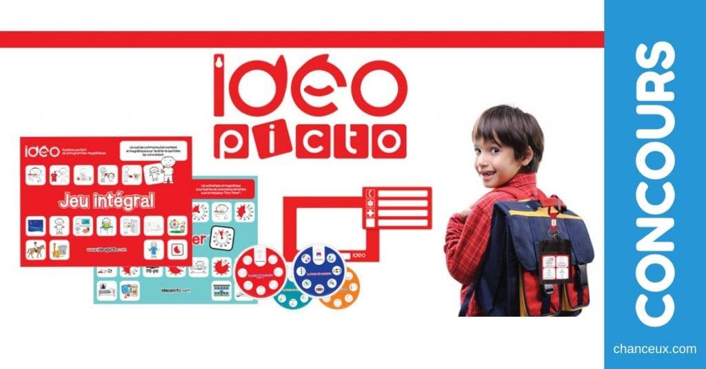 Concours du Québec - Gagne ce jeu d'apprentissage imagé pour enfants d'IDÉOpicto