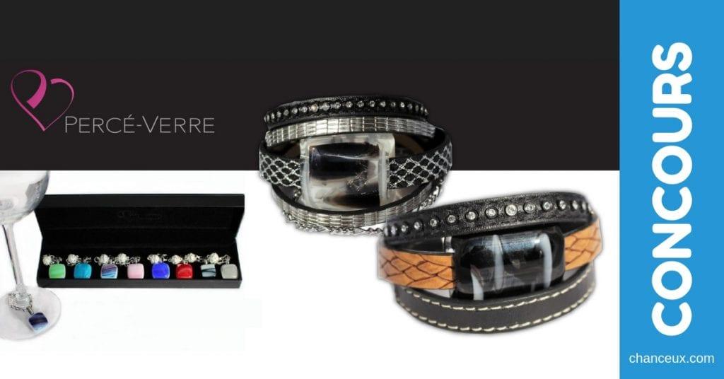 Concours du Québec - Un superbe ensemble de bijoux en verre de chez Percé-Verre