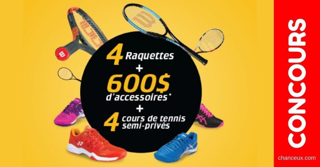 Concours Québec - Gagne 3000$ chez ProSport