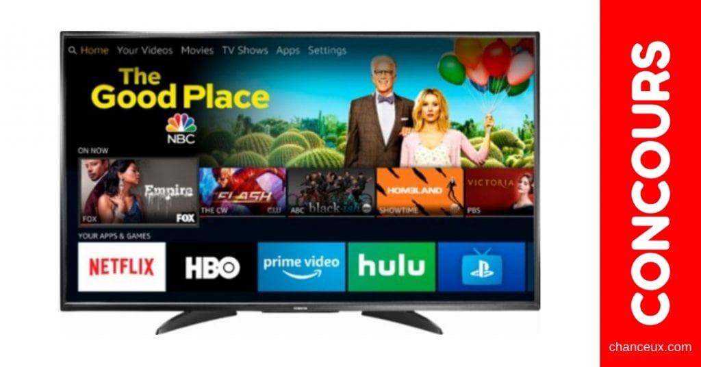 Concours Québec - Téléviseur Toshiba 4K Ultra HD Smart de 55 pouces