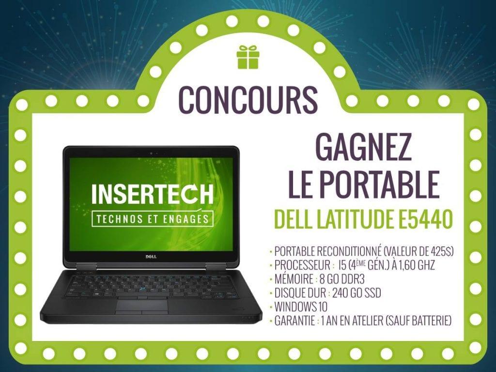 Concours du Québec - Gagne un potable Dell Latitude E5440