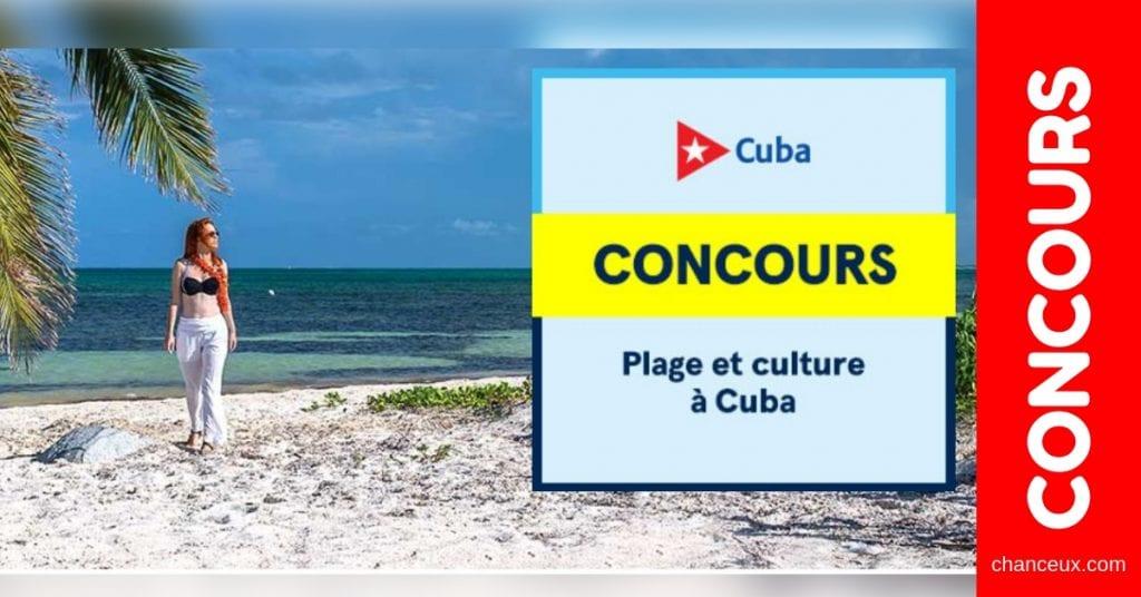 Concours du Québec - Gagne un voyage à Varadero Cuba!