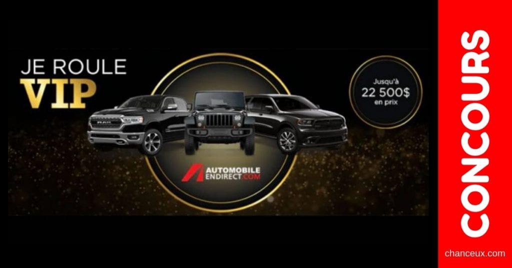 Concours du Québec - Location de voiture de prestige pour une durée de 2 ans