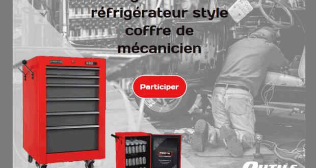 Réfrigérateur style coffre de mécanicien
