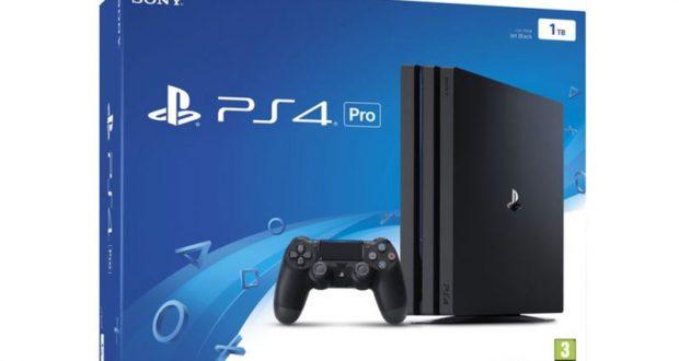 Une console PS4 Pro à gagner