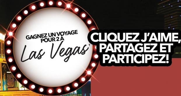 Gagnez un voyage pour 2 à Las Vegas
