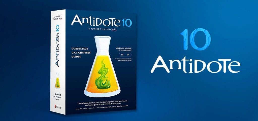 Gagnez une licence Antidote 10