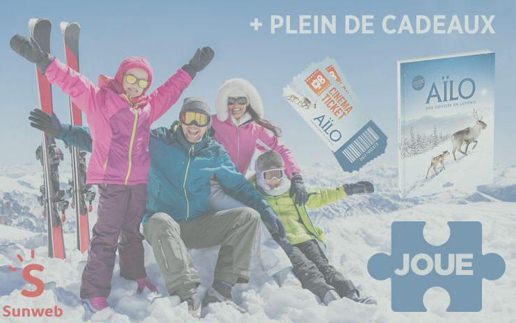 Gagne 1 séjour au ski pour 4 personnes à la Plagne