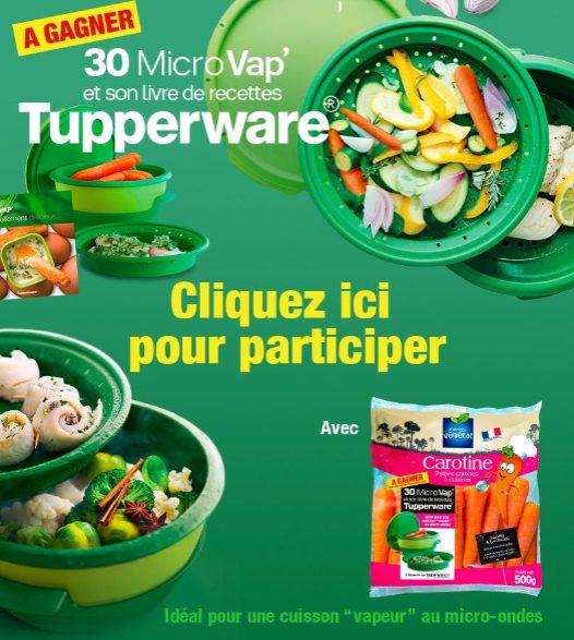 Gagne 30 MicroVAP avec 1 livre de recette