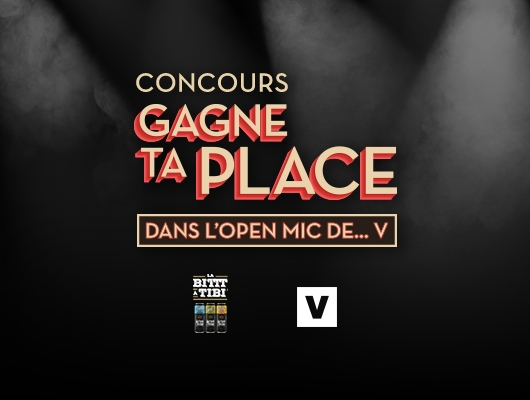 Noovo Gagne Ta Place Dans L'Open Mic de V
