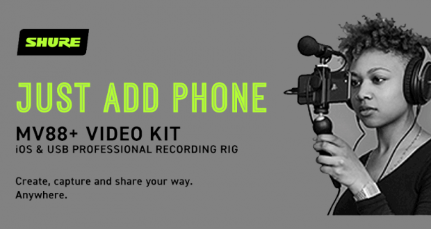 Gagnez un ensemble MV88+ Video Kit de Shure