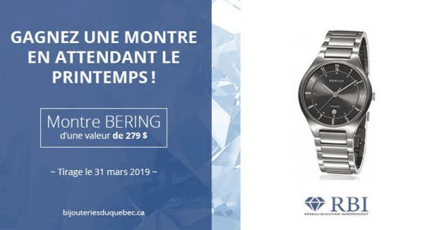 Une montre Bering pour homme