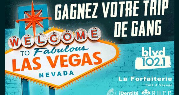 Voyage pour 4 personnes à Las Vegas