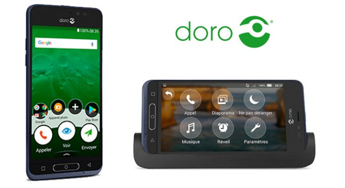 Gagne 6 smartphones Doro