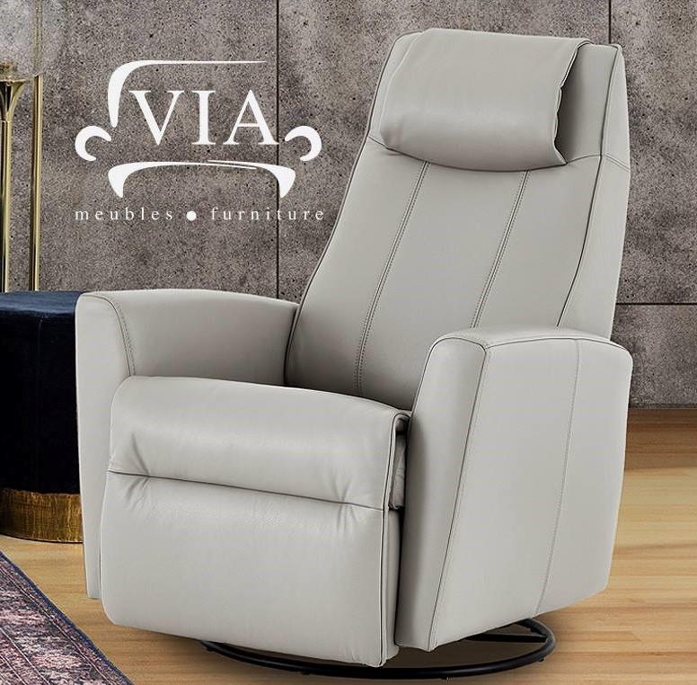 Concours Québec - Un fauteuil VIA berçant pivotant et inclinable