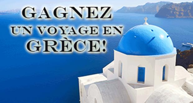 Gagnez un Voyage pour deux en Grèce