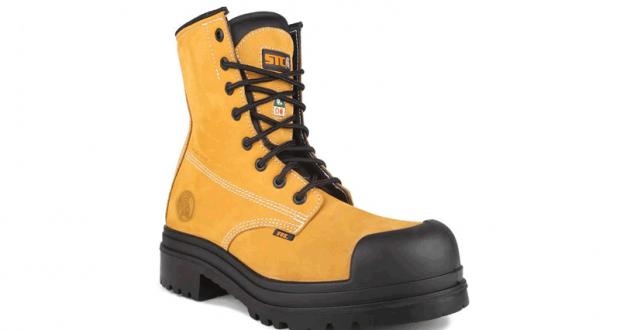 Une paire de bottes de sécurité de marque DAWSON