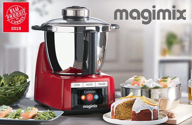 Gagne 2 robots Cook Expert Magimix