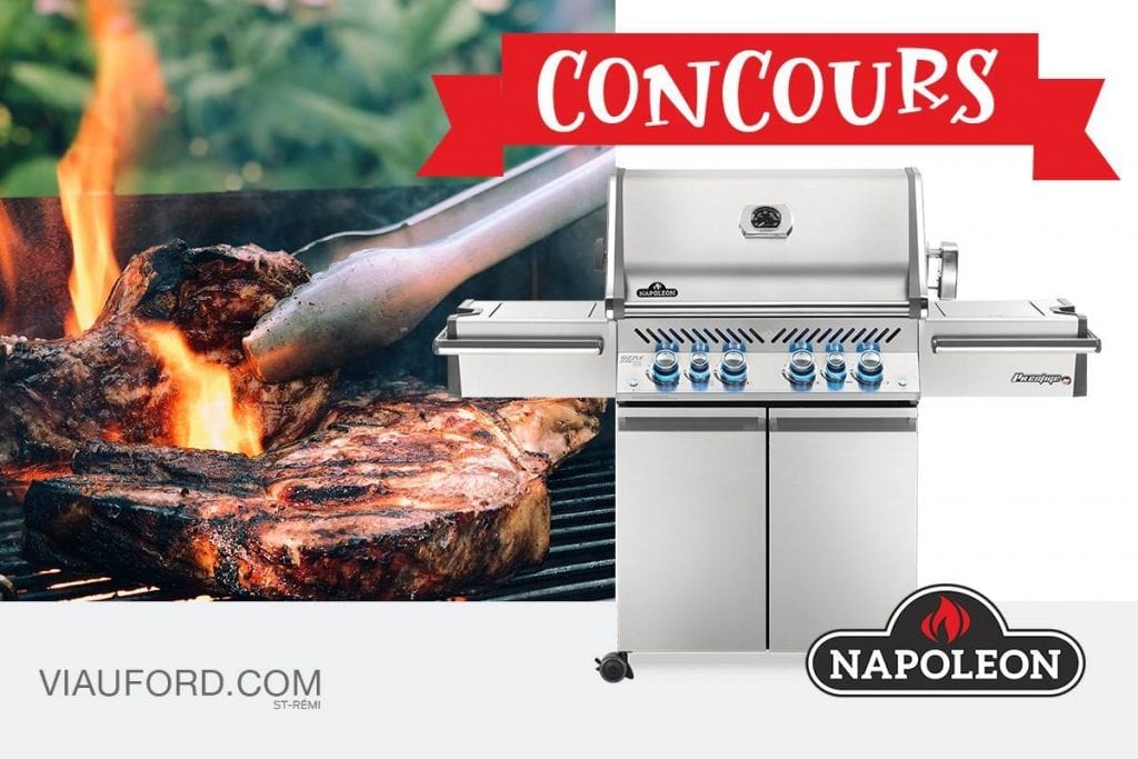 Concours Québec - Gagnez Un BBQ Napoléon d'une valeur de 2 399$